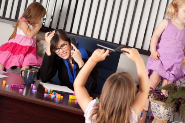 effetti dello stress da mamma sui bambini